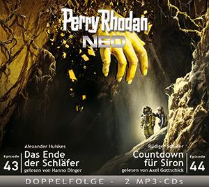 Perry Rhodan NEO - Das Ende der Schläfer / Countdown für Siron (Folgen 43+44)